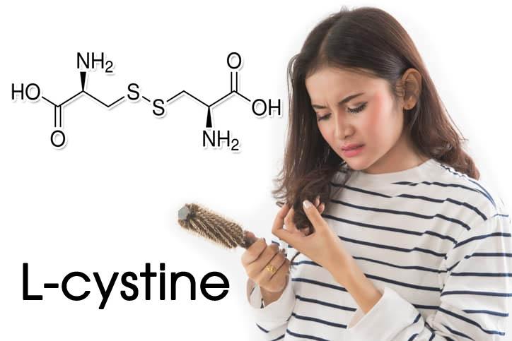 L- cystine với tóc