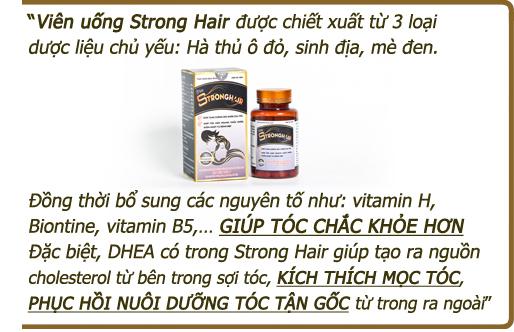 PGS. TS. Vũ Mạnh Hùng cho biết về Strong Hair