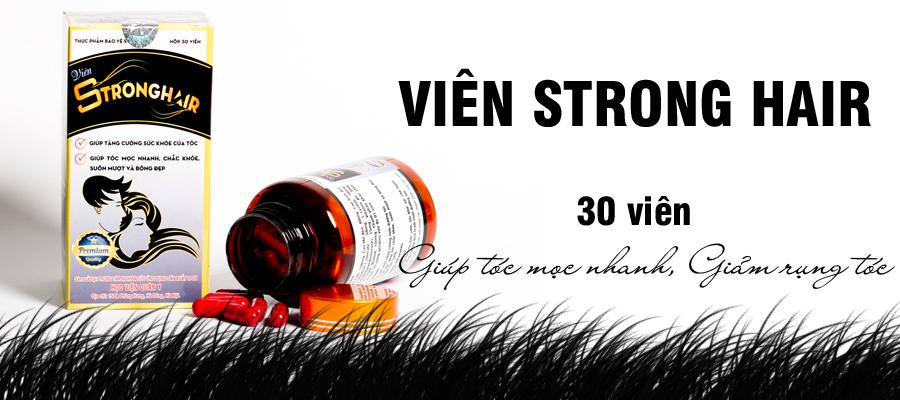 Viên uống Strong Hair Học Viện Quân Y