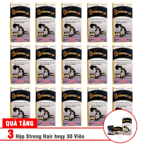 Combo 15 hộp Strong Hair